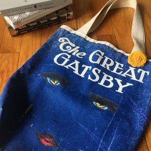 *FINAL OFFER* Great Gatsby Canvas Tote